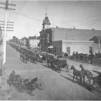 Funeral Procession, Dr. Bard