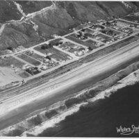 La Conchita Area Including Railroad Track, Surf Line